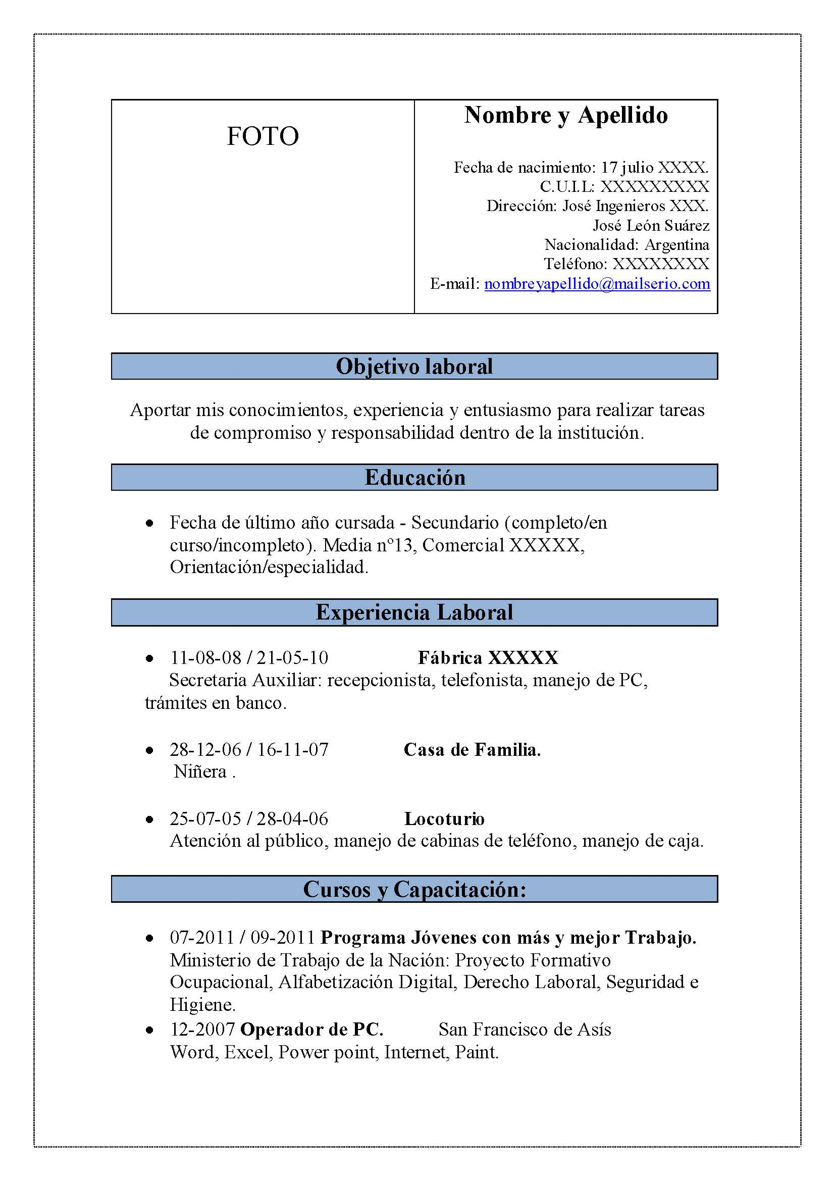 Ejemplo De Curriculum Vitae  Ejemplos De. Cover Letter For Resume Jobstreet. Resume Cover Letter Reference Sample. Cover Letter For Mechanical Engineer With No Experience. Sample Excuse Letter For Athletes. Letter Of Resignation Upon Retirement. Resume Cover Letter Examples Engineering. Cover Letter Template On Mac Word. Resume Summary Examples Data Analyst